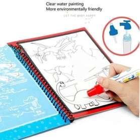 Livre magique coloriage à l'eau licorne