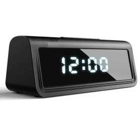 Réveil à caméra espion HD 4K détection de mouvement Wifi