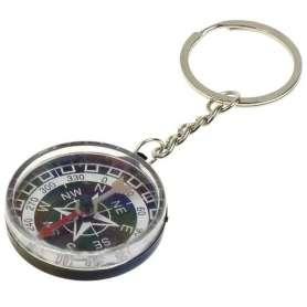 Porte-clés à boussole