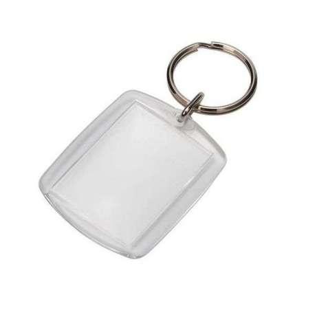 Porte-clés porte photo personnalisable