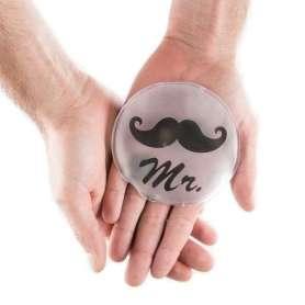 Chaufferette main Mr avec moustache