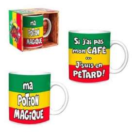 Mug rasta (2 pièces)