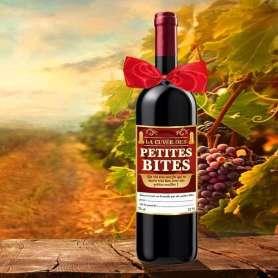 Bouteille de vin la cuvée des petites bites