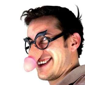 Lunette à nez en forme de phallus