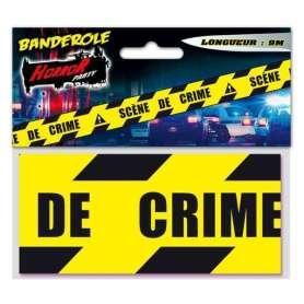 Ruban scène de crime (9 mètres)