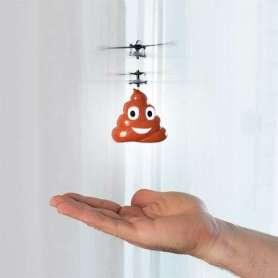 Hélicoptère émoticrotte contrôle par la main
