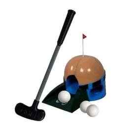 Jeu de golf avec trou en forme de fesses et drapeau