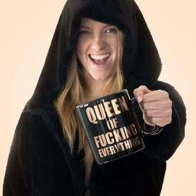 Mug XXL queen of fucking everything