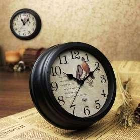 Horloge silencieuse style vintage