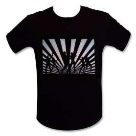 T-shirt equalizer Led danseurs