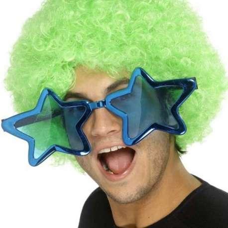 Grosses lunettes en forme d'étoile