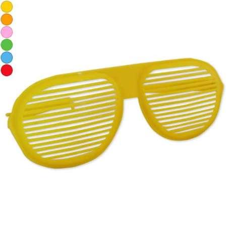 Grosses lunettes à rayures