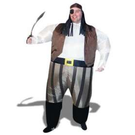 Costume gonflable pirate