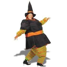 Costume gonflable sorcière