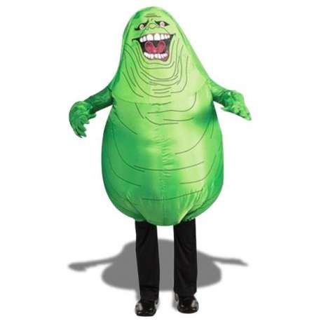 Costume gonflable fantome vert ghostbuster