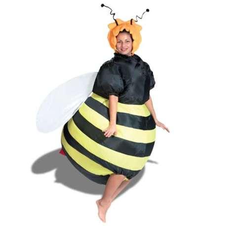 Déguisement gonflable pour se glisser dans Maya l'abeille