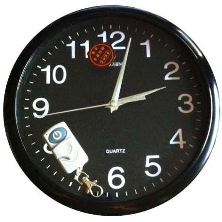 Horloge caméra espion télécommandée murale ronde 4Go