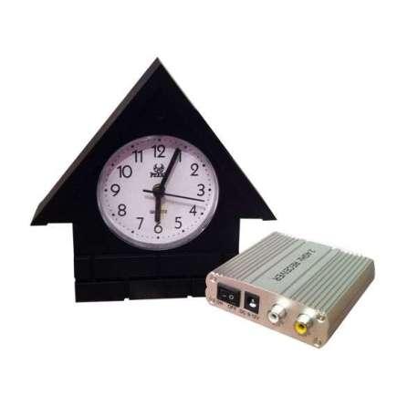 Horloge objet de décoration et caméra de surveillance