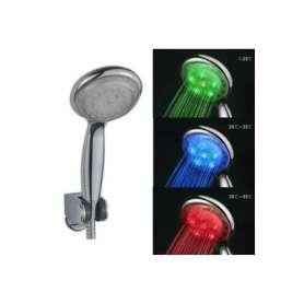Pommeau de douche à LED : eau lumineuse et colorée