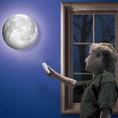 Lampe lune télécommandée