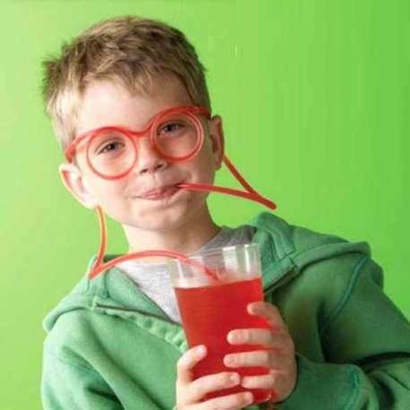 Paille lunettes : pour boire