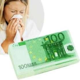 Mouchoir en papier 100 euros PQ WC
