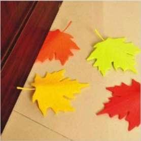Bloc-porte feuille d'automne