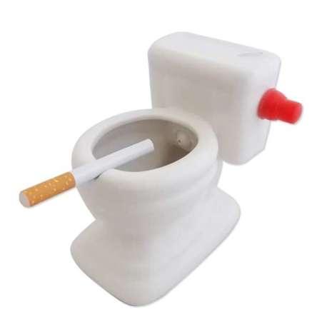 Cendrier WC céramique 12cm
