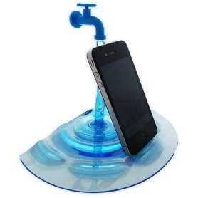 Dock Support smartphone robinet