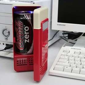 Frigo USB chaud / froid canette cafe
