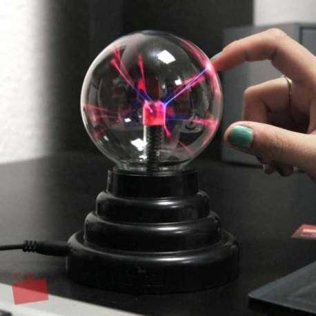 Lampe plasma boule USB