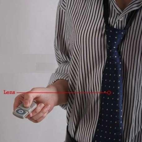 Cravate caméra espion 4Go télécommandée