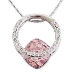 collier avec pendentif pierre bling bling