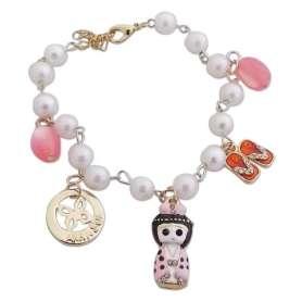 Bracelet à perles et chinoise