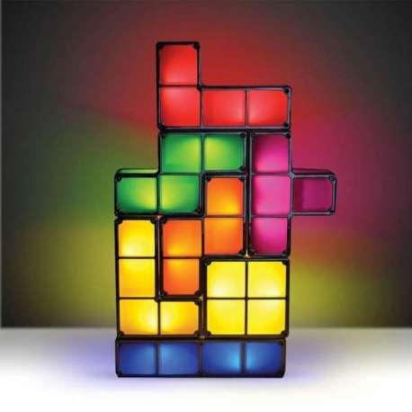 Lampe tetris 7 blocs