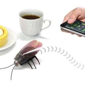Robot cafard télécommandé par iPhone