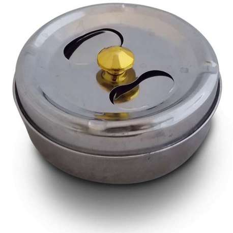 Cendrier couvercle rotatif
