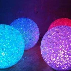 Boule lumière LED multi couleurs