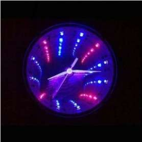 Horloge tunnel LED