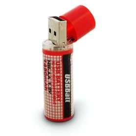 Pile USB AA rechargeable