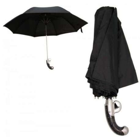 Parapluie manche pistolet arme