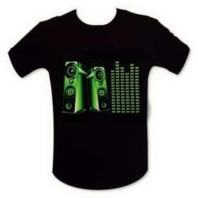 T-shirt equalizer enceinte mur de son