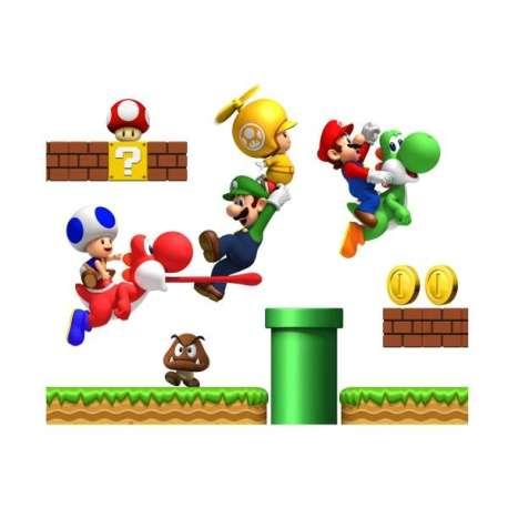 Stickers Super Mario Bross
