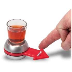Jeu de la flèche à boire avec verre