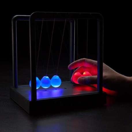 Balancier de Newton lumineux LED