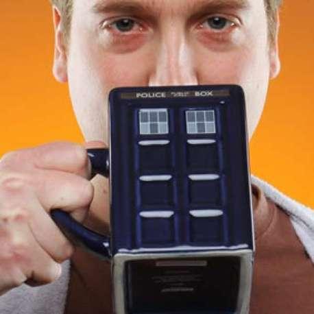 Tasse TARDIS cabine Dr Who