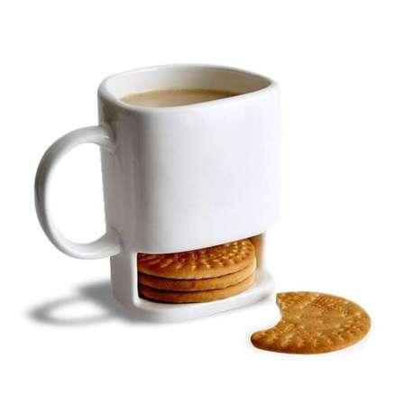 Mug avec rangement pour biscuits