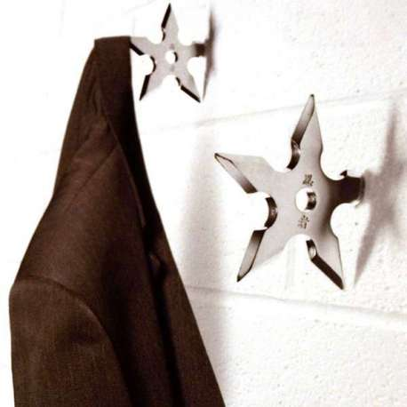 Porte-manteau étoile Ninja