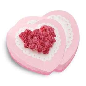 Moule à gâteau cœurs superposés silicone