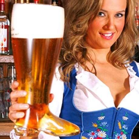 Chope de bière XXL botte 800 ml